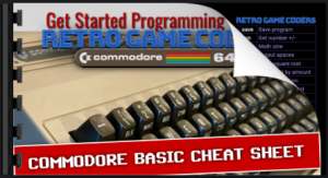 Commodore BASIC Commands List Cheat Sheet PDF download