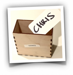 A variable is like a little named box that you can put things in to remember them for later recall